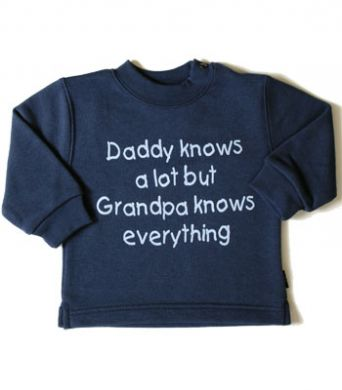 Grandpa knows everything sweatshirt