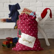 personalised xmas sack