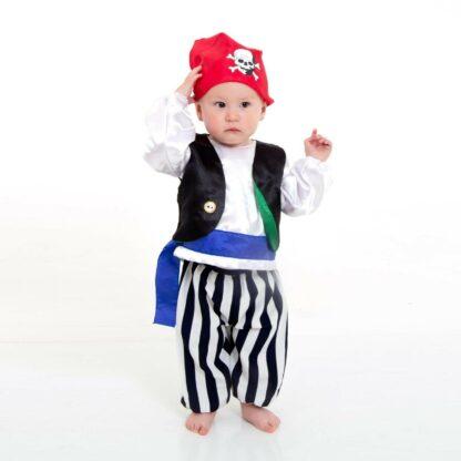 Baby pirate standing