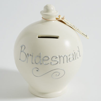 Bridesmaid Money Pot - Terramundi   Little Mischiefs