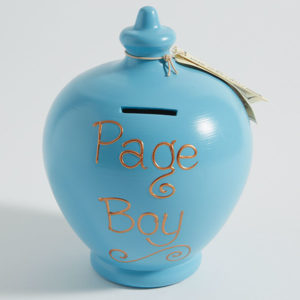 Page Boy Moneypot