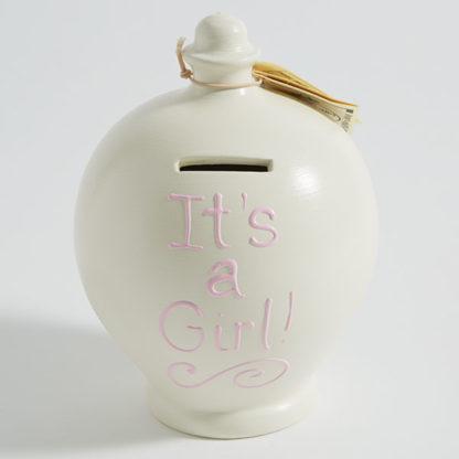 It's a Girl Money Pot Terramundi | Little Mischiefs