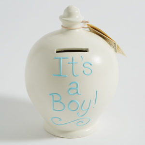 """It's a boy"" money pot"