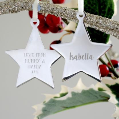 Engraved Star