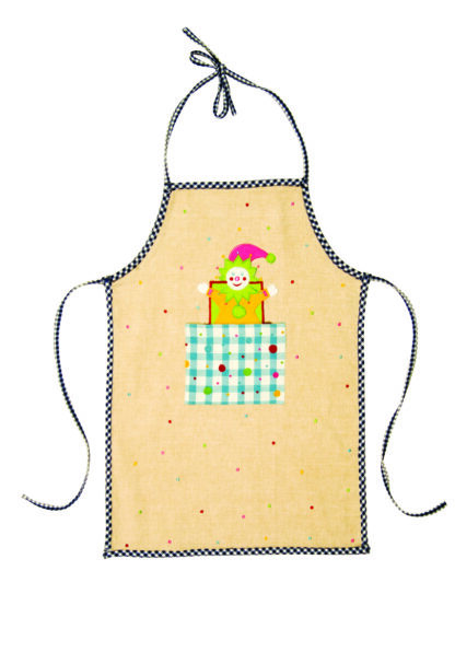 Jack in the box apron